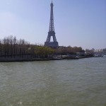 Eiffel Tower View from the Seine River