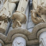 The designs are Carvings of Biblical images
